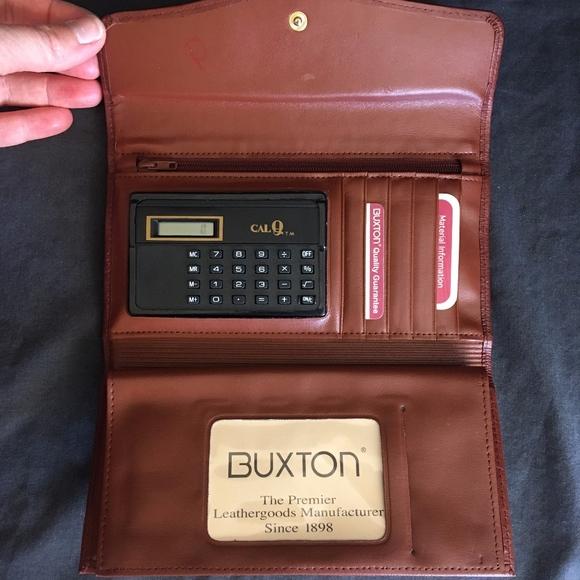 Buxton Handbags - NWT Vintage Buxton Cal-Q Leather Clutch Wallet